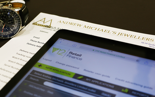 Andrew Michaels Jewellers - Finance